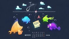 Fishing Is My Passion! June 2015 Wallpaper © Igor Izhik