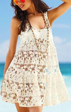 Lace Beach Dress