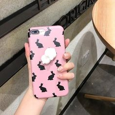 Coque Squishy Lapin iPhone 7 Plus - Rose Iphone 8 Plus, Slime And Squishy, Smartphone, Accessoires Iphone, Coque Iphone, Apple Products, Phone Covers, 6 Case, Ipod