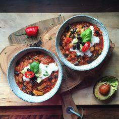 Mexican Lentil & Black Bean Soup | Lucy & Lentils