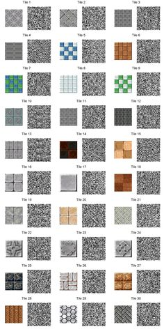 Tiles! QR Code #animalcrossing #acnl