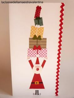 La Classe Della Maestra Valentina Natale Of Biglietti Natale On Pinterest Natale Cards And Fai Da Te