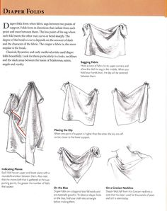 drawing fabric tutorial - Google Search