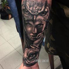 WANT A FREE FEATURE ? CLICK LINK IN MY PROFILE !!! Tag #LADYTEREZIE Repost from @samuelsancho Tattoo realizado en el seminario de realismo con @samuelsancho para Benjamin de Huelva gracias a todos. @balm_tattoo @viking_inks @killerinktattoo @wanted_tattoo_studio via http://instagram.com/ladyterezie