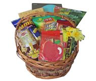 What a delicious way to support Israel! Our Large Israeli Basket has wonderful products imported from Israel. For Rosh Hashana, we add apple and honey treats too!
