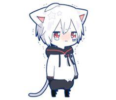kobayashi-san chi no maid dragon elma chibi stiquer Anime Cat Boy, Neko Boy, Gato Anime, Chibi Boy, Anime Child, Dibujos Anime Chibi, Cute Anime Chibi, Kawaii Chibi, Anime Kawaii