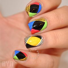 Nail Art: Black and Gold Designs | StyleCaster
