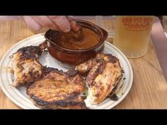 Chipotle BBQ Sauce on Chicken and Chops recipe by the BBQ Pit Boys