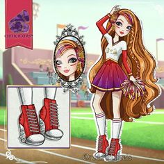 Ever After High Names, Rapunzel, Right In The Childhood, Monster High Art, Fairy Coloring Pages, Raven Queen, Disney Villains Art, Image Fun, Anime Outfits