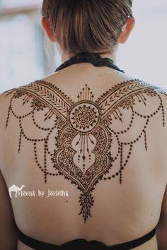 Large Natural Henna / Mehndi on back for Matric Farewell / Matric Dance . Henna by Jorietha Natural Henna, Henna Mehndi, Henna Designs, Dance, Tattoos, Inspiration, Blue Prints, Henna Art Designs, Dancing