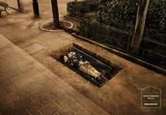 Campaign: The longer you live on the street, the harder it is to get off img class=alignright src=http://www.ads-ngo.com/img/ngo/samu_social.gif alt=Samu Social/ Agency: Publicis Country: img src=http://www.ads-ngo.com/img/flags/fr.gif alt=France/ France