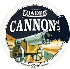 Loaded Cannon Ale The sweet aroma of liquorice and treacle toffee might take you back to your childhood sweetshop. Boston Brewery, Craft Beer Brands, Toffee, Best Brand, Cannon, Brewing, Childhood, Sweet, Food