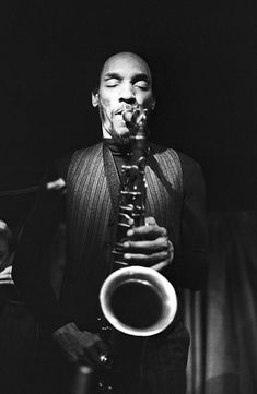 American jazz musician and composer Sam Rivers photographed whilst rehearsing, 1980. Jazz Artists, Jazz Musicians, Tenor Sax, Saxophone, Sam Rivers, Sax Man, Jazz Club, All That Jazz, Black History