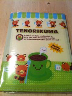 Sanrio Hello Kitty Tenorikuma Writing Set