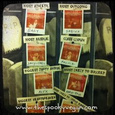 The Spooky Vegan: 31 Days of Halloween: A Night to Dismember Zombie Prom Halloween Party