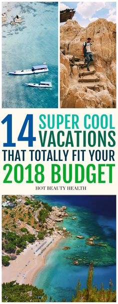 Planning a solo adventure trip or vacation with family outside the USA this summer but don't have a large travel fund? My list of beautiful places to travel gives budget travellers so many options. Whether you want to visit Asia, Europe, South America or Africa, you can stretch your dollar as far as possible. Click pin to check out these 14 cheap travel destinations! #traveltips #cheaptravel #travelonabudget #beautifulplaces #hotbeautyhealth