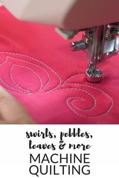 Free Motion Quilting Tips & Tricks