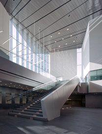 Musiikkitalo (Helsinki Music Centre), 'Finnish Architecture 2010/2011', Museum of Finnish Architecture (Photo: Arno de Chapelle)
