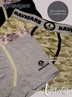 Boxer Uomo & intimo uomo. Navigare Underwear collection! Nuovi arrivi collezione uomo. #boxeruomo #intimo http://www.ludwigintimouomo.it