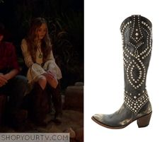 Girl Meets World: Season 2 Episode 21 Maya's Brown Studded Boots