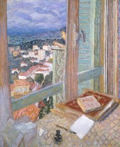 """""""The Window"""" in 1925 by Pierre Bonnard. Oil on canvas. Tate"""