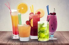 Tolle Bunte Cocktail Rezept ohne Alkohol - nicht nur für Kinder *** Colorful and Yummy Virgin Cocktail Recipes - not just great for the kids