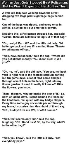 Woman get stopped by a police offer funny joke funny quotes quote jokes lol funny quote funny quotes funny sayings humor omg