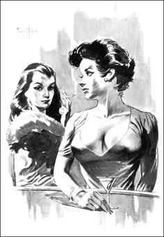 Frank Frazetta - The Midwood Paperback Illustrations ~ 1963-64