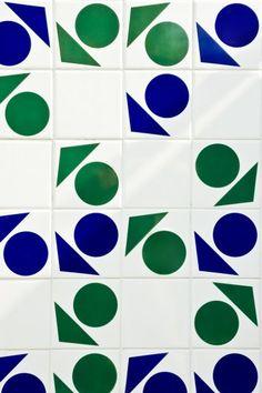 Athos Bulcão para obra de Oscar Niemeyer