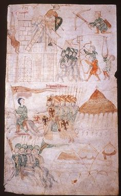 Liber ad honorem augusti. second half of 12th century, Carta 17 / 110a
