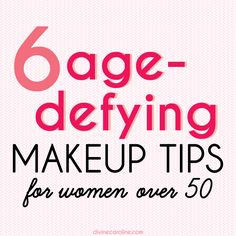No procedures needed – just add these simple tricks to your morning routine! #makeup #aging #50s #beauty