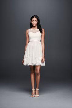 Short Mesh Dress wit