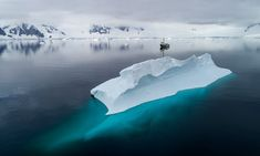 Greenpeace ship the Arctic Sunrise in Charlotte Bay