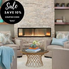 "Empire Gas Fireplaces - 10% OFF with Coupon Code ""GAS"" - Modern Blaze"
