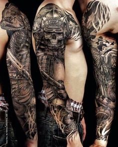 Ghost Samurai Tattoo By Jess Yen