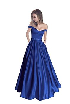 online shopping for Harsuccting Harsuccting Off The Shoulder Beaded Satin Evening Prom Dress Pocket from top store. See new offer for Harsuccting Harsuccting Off The Shoulder Beaded Satin Evening Prom Dress Pocket Lavender Prom Dresses, Navy Blue Prom Dresses, Floral Prom Dresses, Prom Dresses Uk, Ball Gowns Prom, Ball Dresses, Party Dresses, Wedding Dresses, Prom Dresses Australia