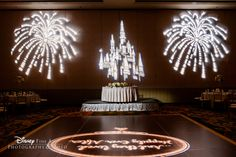 Dance the night away surrounded by castles and fireworks at your Disney's Fairy Tale Wedding