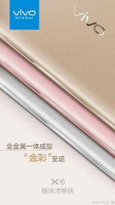 Mola: Vivo nos confirma en un teaser que el Vivo X6 estará fabricado en metal