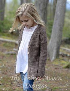 KNITTING PATTERN-The Hylan Sweater 1/2 3/4 5/6 7/8 9/10