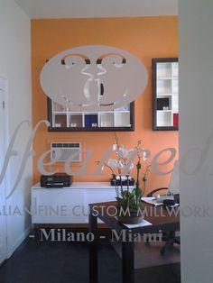 .a small glimpse of our Miami office, after makeover. --  ..un piccolo scorcio del nostro ufficio di Miami, dopo il rinnovamento.