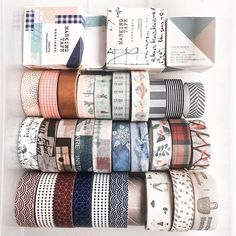 Which row of washi tapes would you have? Comment ⠀Great news our Back to s… – Bullet Journal Stationary School, Cute Stationary, Washi Tape Set, Masking Tape, Duct Tape, Washi Tape Storage, Cute School Supplies, Japanese Paper, Tape Crafts
