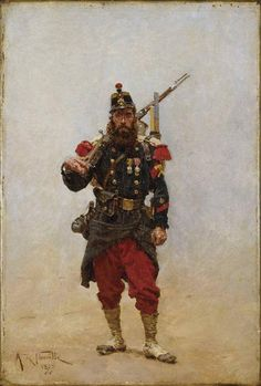 Inspo album that I saved over the years that could help with your creativity - Album on Imgur French History, European History, Ancient History, Military Art, Military History, Military Uniforms, Edouard Detaille, Military Drawings, Crimean War