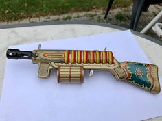 Nice colors 27 cm and it works TN Japan 😀 toy gun