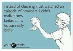 Ok...now we all feel better!  #cleaning #humor