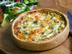 Broccoli and Stilton Quiche - Fiver Feeds Broccoli And Stilton, Broccoli Quiche, Food Hunter, Good Food, Yummy Food, Cooking Recipes, Healthy Recipes, Quiche Recipes, Russian Recipes