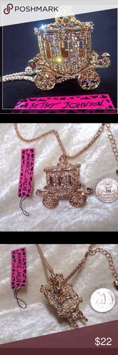 "Cinderella's Carriage HP HOST PICK 30"" Necklace Cinderella's Carriage 30"" + 2"" extension Chain Necklace HOST PICK  Labor Day Sale  Jewelry Necklaces"