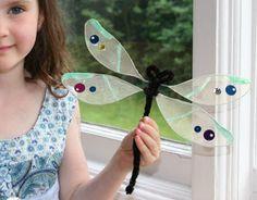 Summertime Dragonflies (easy craft)