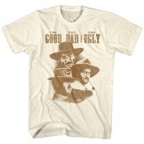 061e63e2 Clint Eastwood The Good The Bad and The Ugly T-Shirt Tan Shirt, Clint