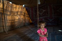 A Syrian refugee in her family's tent. Like previous generations of refugees, the Syrians are quickly developing ties to their surrounding areas, increasing fears that they will stay and that their huge numbers will cause a sudden, and potentially destabilizing, redrawing of the demographic map. Lynsey Addario for The New York Times