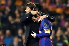 Antonio Conte praised Messi afterwards and said he was the player who 'made the difference'